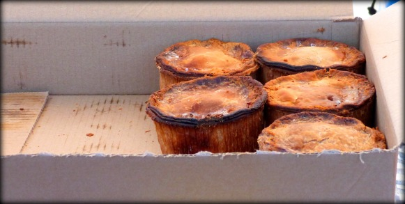 Five Lonely Pies