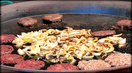 Grassfed Burgers and Onions