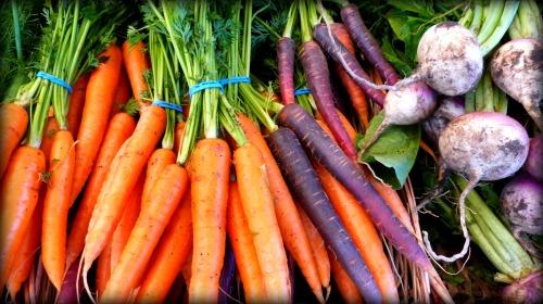 Kaleidoscope Carrots and Turnips