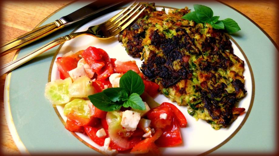 Zucchini and PancettaPancakes
