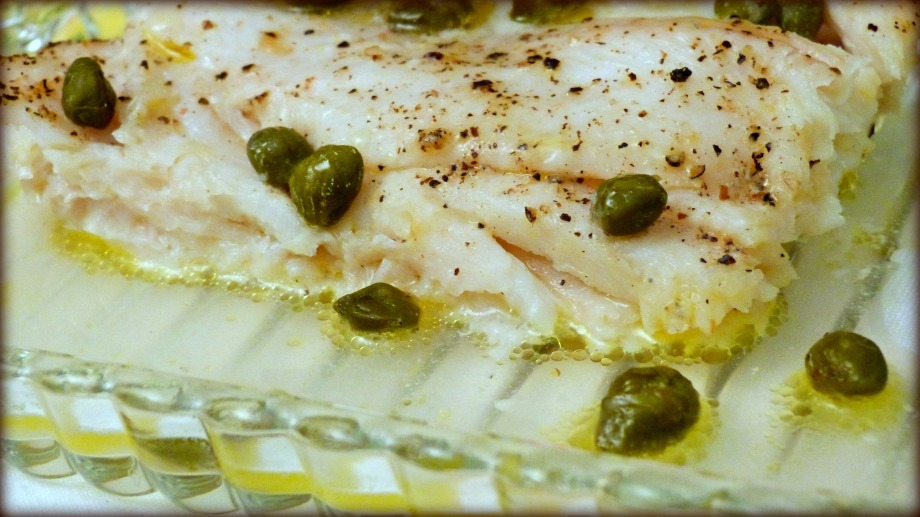 Dover Sole with Butter and Capers