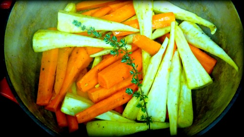 Toss in the Carrots Parsnips and Thyme