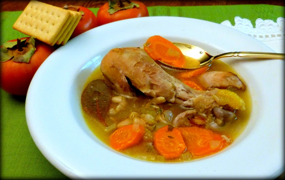 Souper Sunday: Chicken, White Bean and Bacon Soup