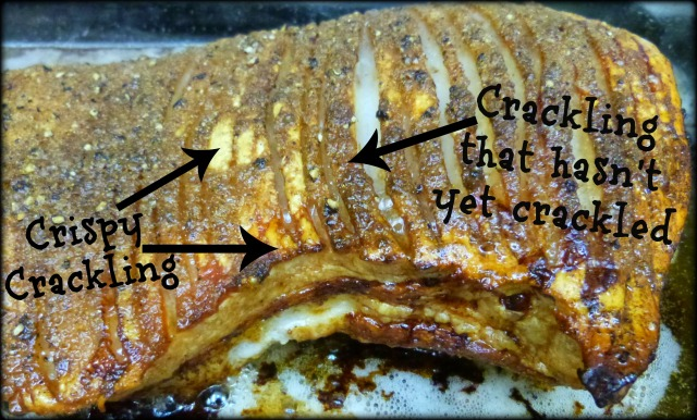 Crispy Crackling vs. Crackling That Hasn't Yet Crackled