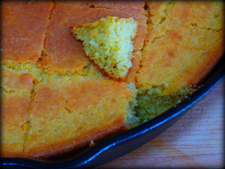 Souper Sunday: Black-Eyed Pea Soup and Coriander-Cayenne Skillet Cornbread