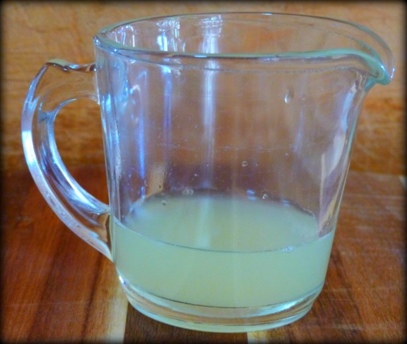 Quarter Cup Lemon Juice
